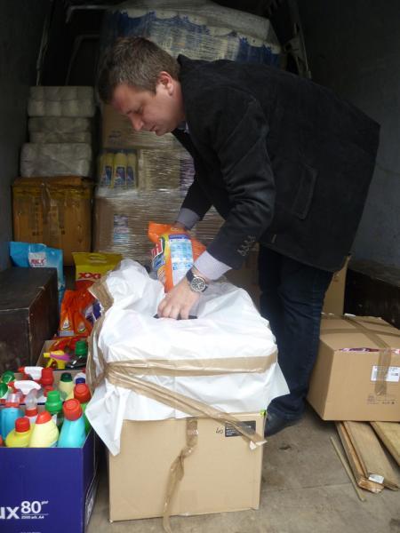 Dary dla powodzian zBośni iHercegowiny