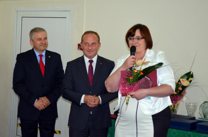 Alicja Janiec zKryształową Koniczyną
