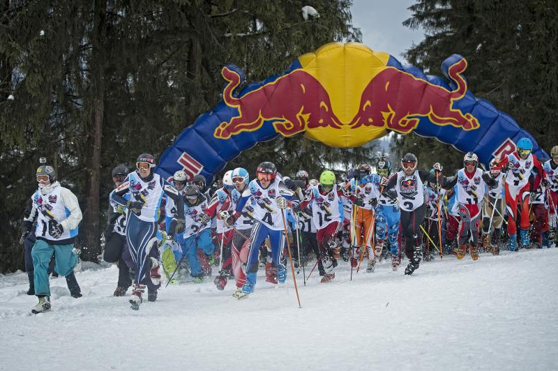 Red Bull zjazd na krechę wZieleńcu