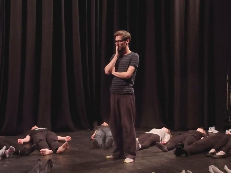 Trwają warsztaty teatralne