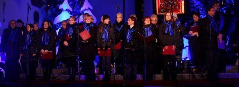 Występ bolesławieckiego chóru