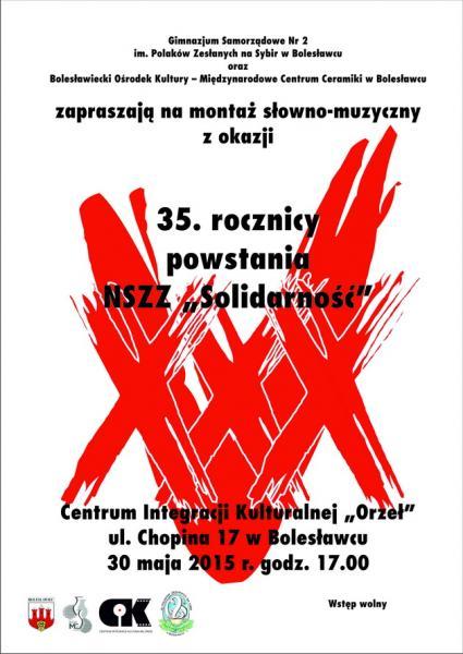 Koncert zokazji 35-lcia NSZZ