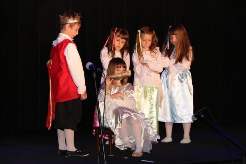 Przedszkolaki na scenie wCIK