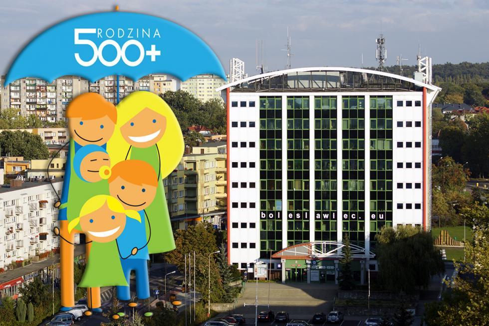 """Pierwszy tydzień programu """"Rodzina 500 plus"""" wBolesławcu"""