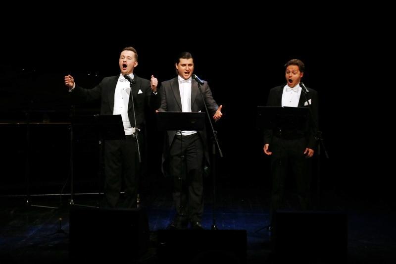Świetny koncert Trzech Tenorów