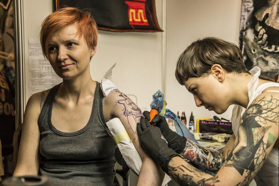 Coraz więcej tatuaży weWrocławiu