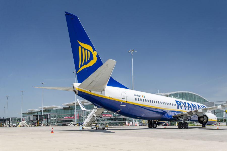 Ryanair uruchomi nowe połączenia zWrocławia