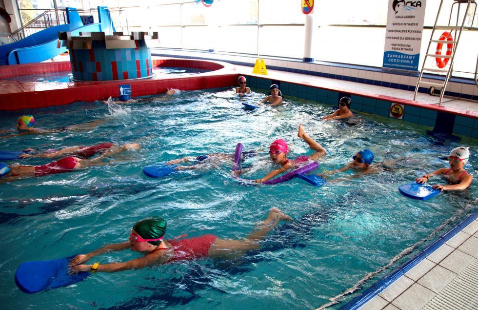 """Czwarty rok realizacji projektu """"Umiem Pływać"""" wBolesławcu"""
