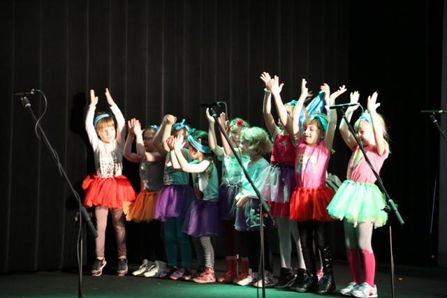 Przedszkolaki na scenie CIK
