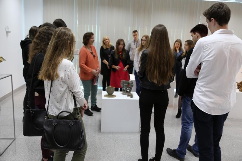 Wernisaż wystawy ceramiki Claudii Rückert