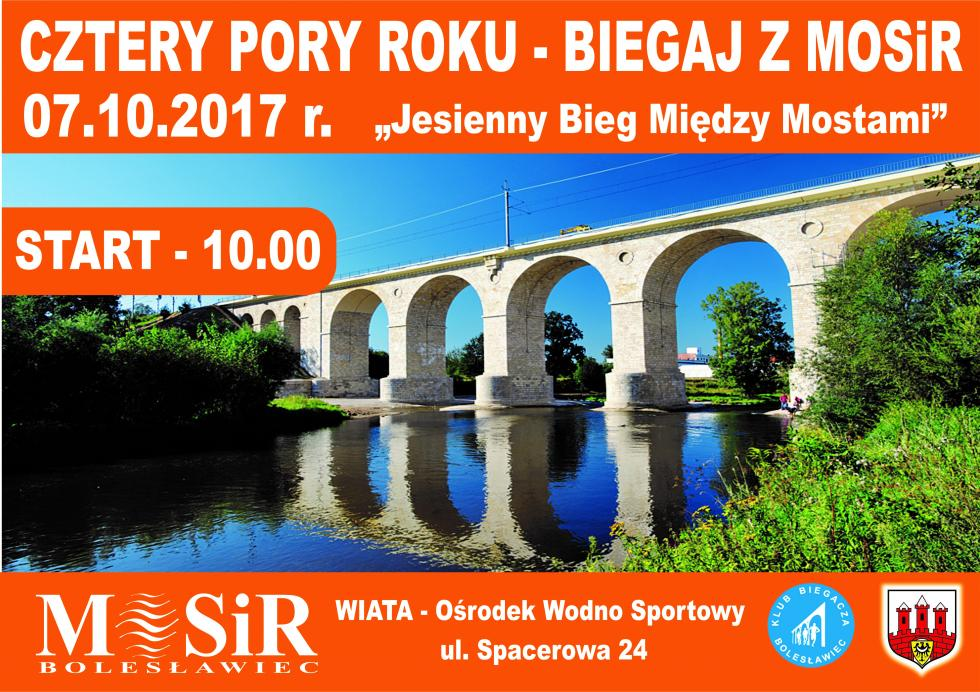 Niebawem jesienny bieg między mostami. Start 7 października