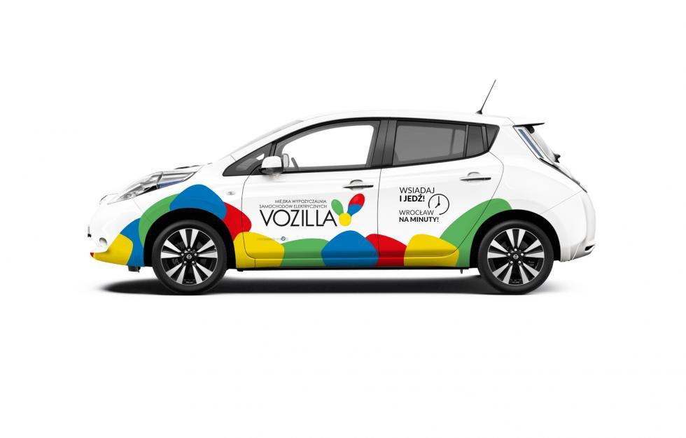 We Wrocławiu rusza pierwsza wPolsce Miejska Wypożyczalnia Samochodów Elektrycznych