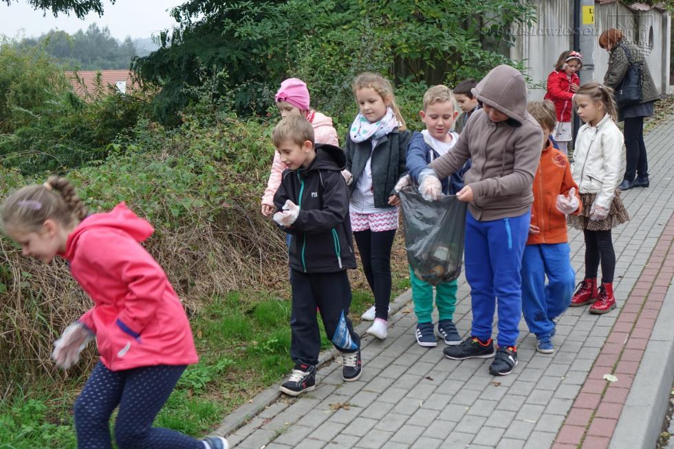 Najmłodsi sprzątali Bolesławiec