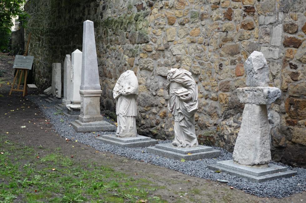 Rzeźby zmuzealnego lapidarium odzyskały dawny blask