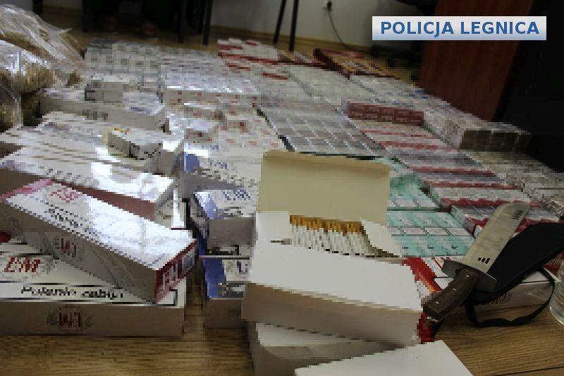 Funkcjonariusze zabezpieczyli ponad 37000 papierosów