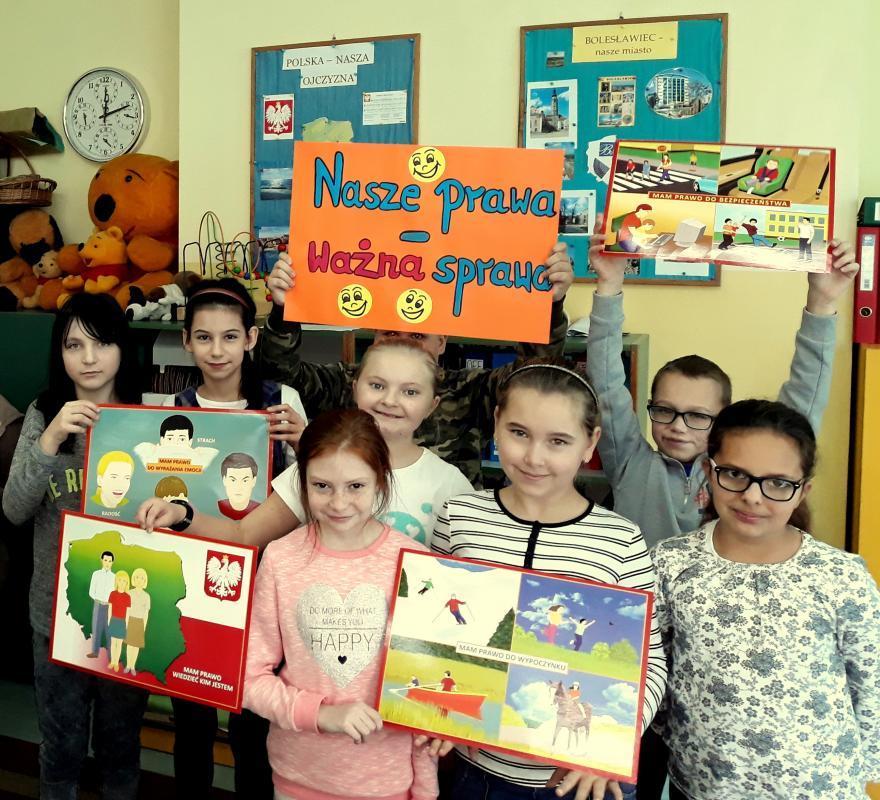 Ogólnopolski Dzień Praw Dziecka wSzkole Podstawowej nr 3
