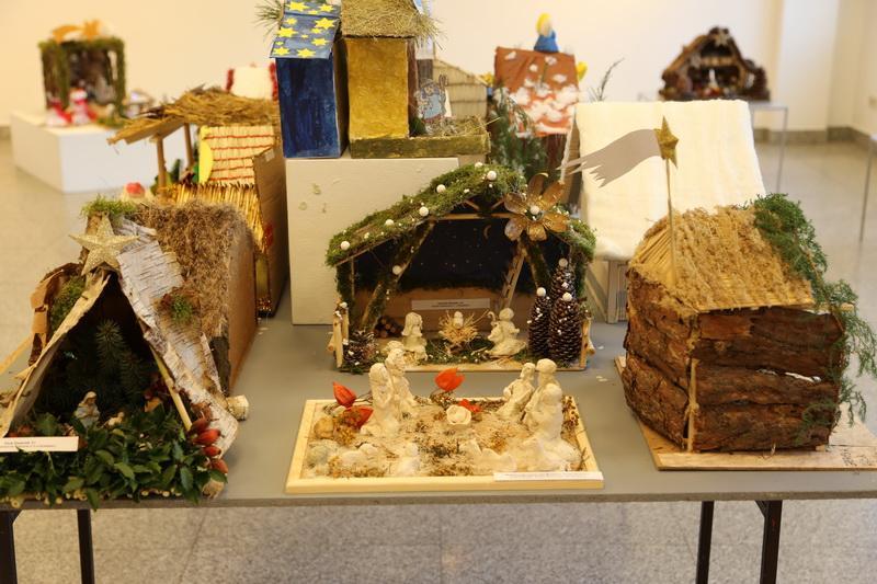 Wystawa konkursowych Szopek Bożonarodzeniowych