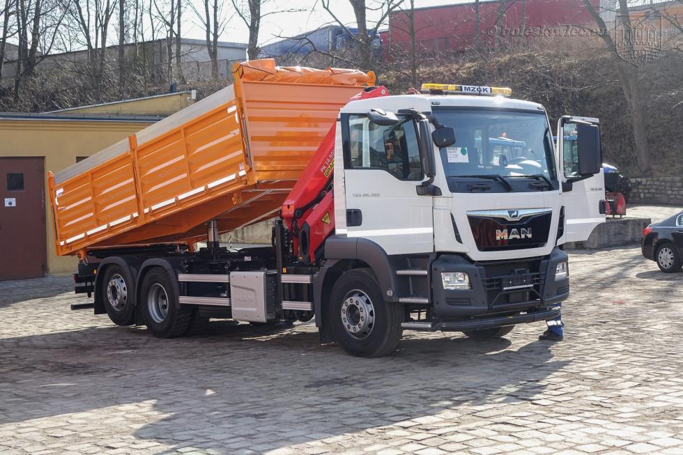 Nowy pojazd specjalistyczny wMZGK