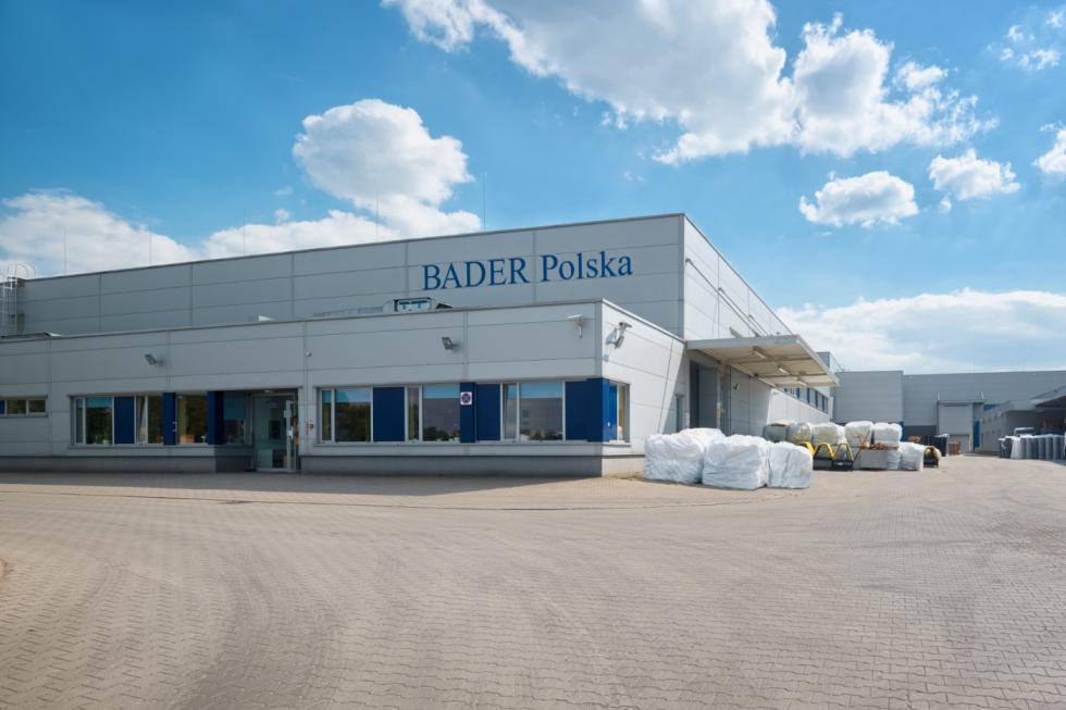 BADER Polska wBolesławcu– praca zgodna zekologią