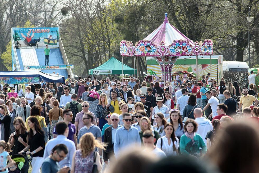 Rekordowe tłumy na wrocławskich Partynicach