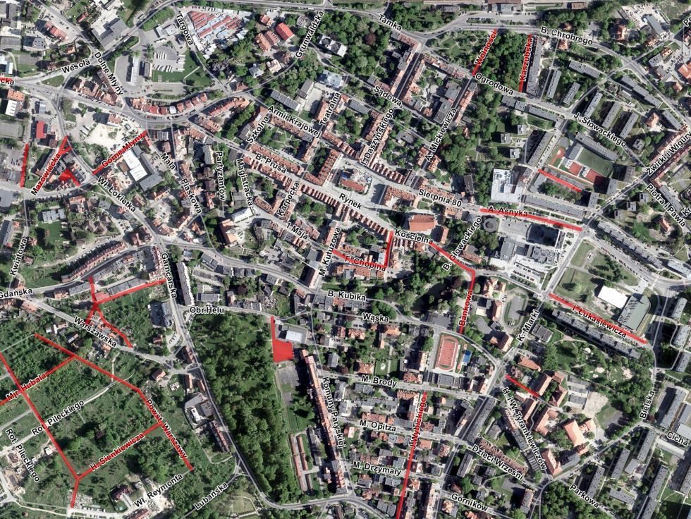 Otwarty katalog budowy, remontów, przebudowy imodernizacji dróg wBolesławcu