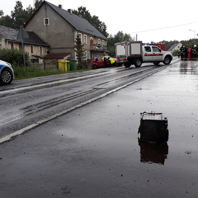 Śmiertelny wypadek na drodze wojewódzkiej 297