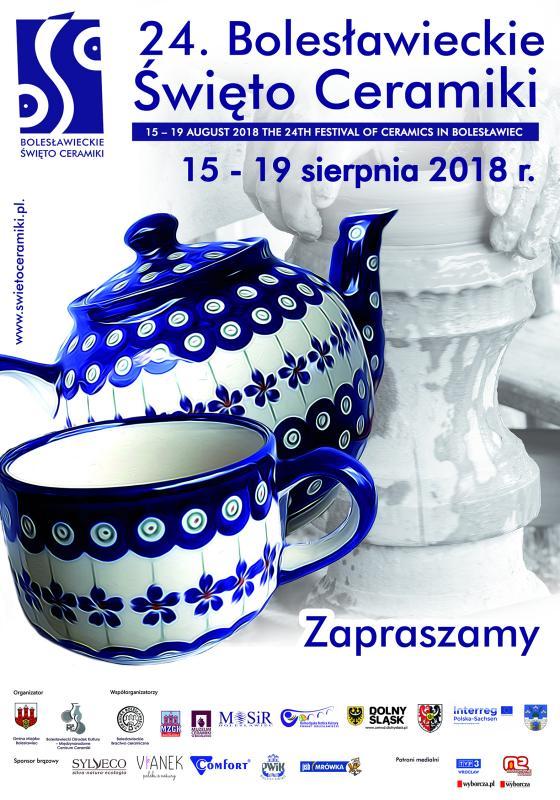 Zaproszenie na Bolesławieckie Święto Ceramiki. Odśrody największe targi ceramiki