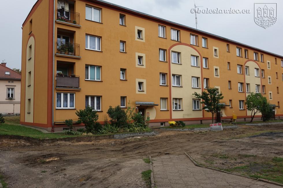 Przebudowa podwórka przy ul. Słowackiego