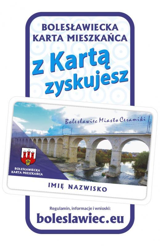 Mieszkasz wBolesławcu? Tu płacisz podatki? Złóż wniosek owydanie Bolesławieckiej Karty Mieszkańca