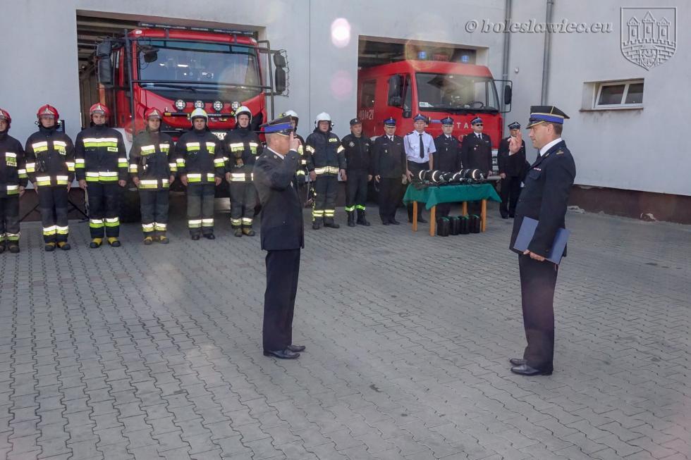 Nowy sprzęt dla strażaków