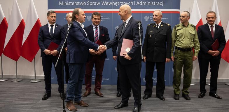 Jest porozumienie MSWiA izwiązków zawodowych funkcjonariuszy