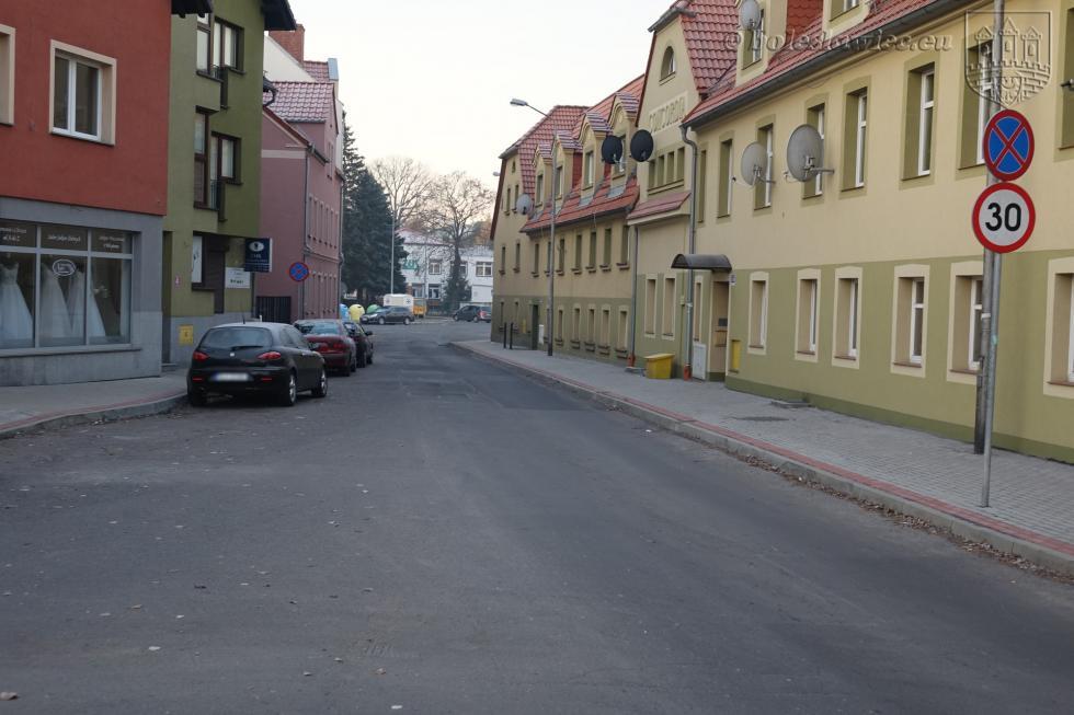 Nowy chodnik na Mazowieckiej