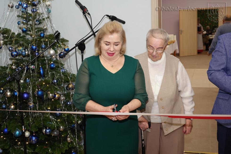 Odnowiona siedziba seniorów