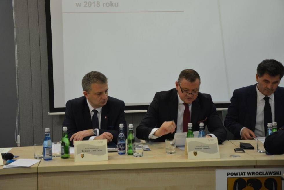 Starosta Tomasz Gabrysiak wiceprzewodniczącym Konwentu Powiatów Województwa Dolnośląskiego