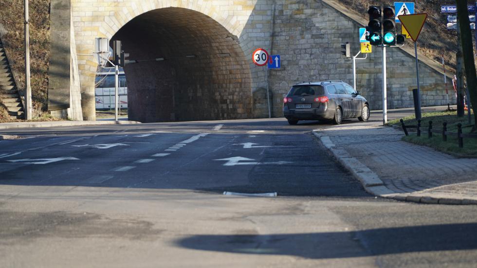 Ulica Grunwaldzka doprzebudowy