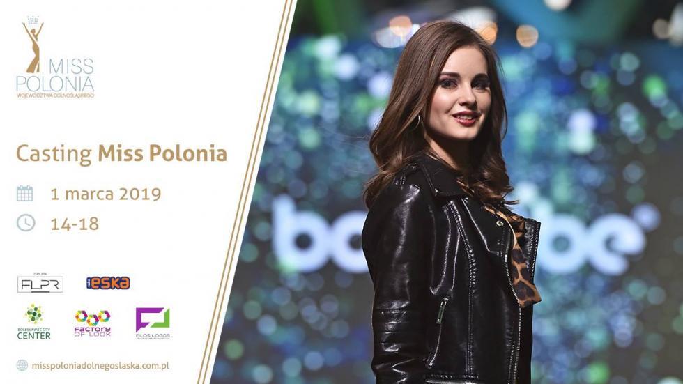Casting Miss Polonia Województwa 2019 już wpiątek wBolesławiec City Center