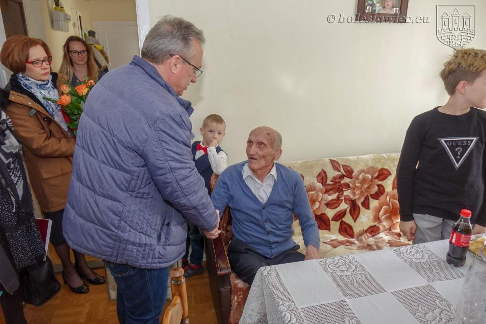 Pan Piotr Łabecki obchodzi 100 lat