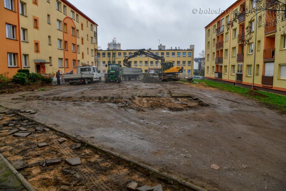 Remont podwórka przy ul. Słowackiego