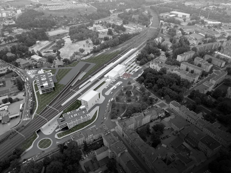 W Bolesławcu trwają przygotowania dobudowy Centrum Przesiadkowego