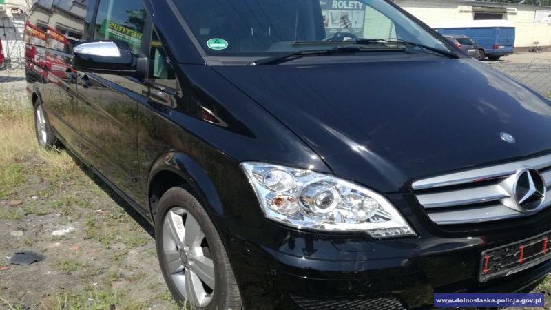 Odzyskali samochód owartości ponad 85 tys. złotych skradziony na terenie Niemiec