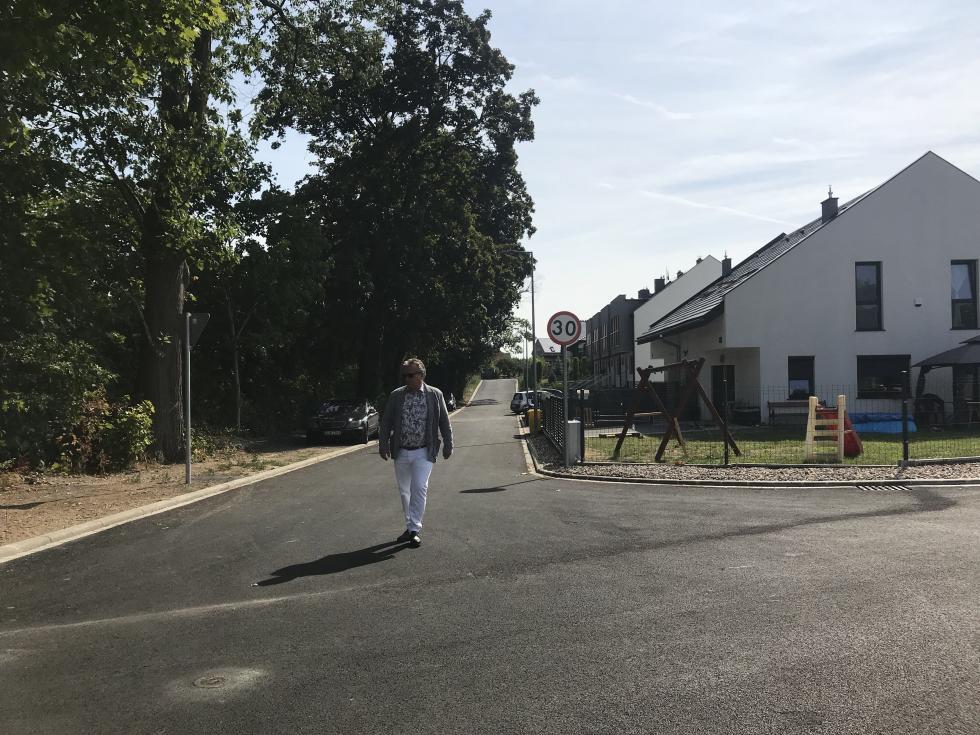 Powstała nowa droga przy ul. Kresów II RP