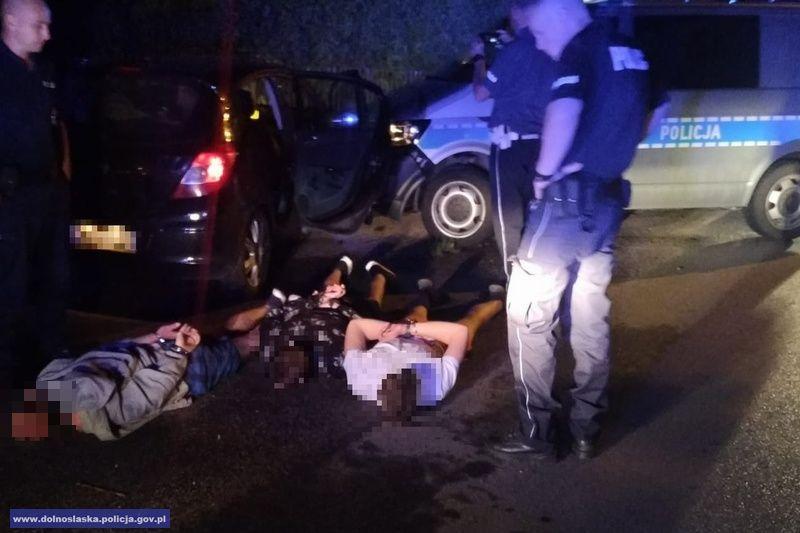 Sprawca kradzieży paliwa zatrzymany po pościgu