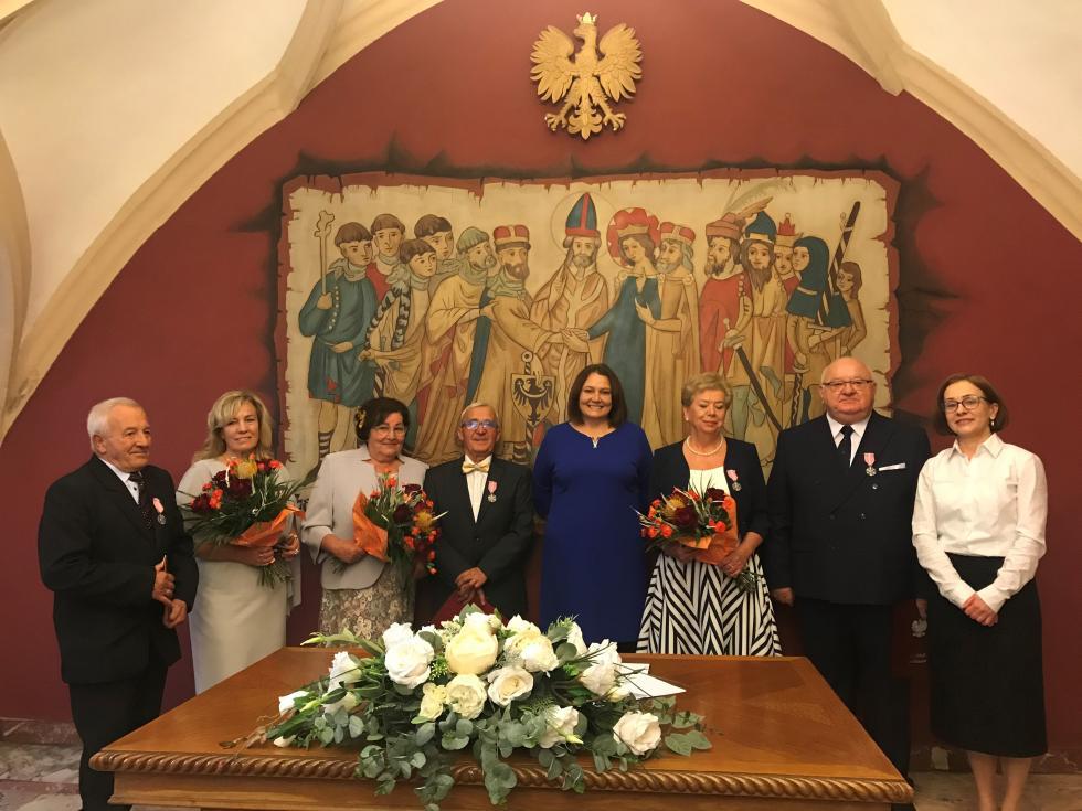 Trzy pary świętowały jubileusz 50 – lecia pożycia małżeńskiego