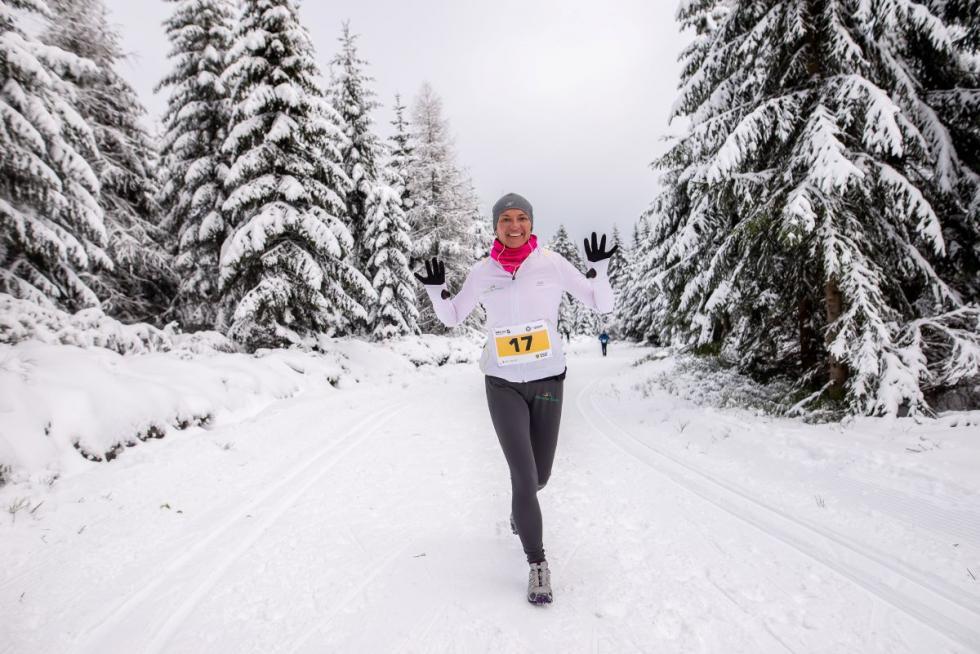 Bieg na 5 - czyli 55 kilometrów po śniegu (na nartach ibez)