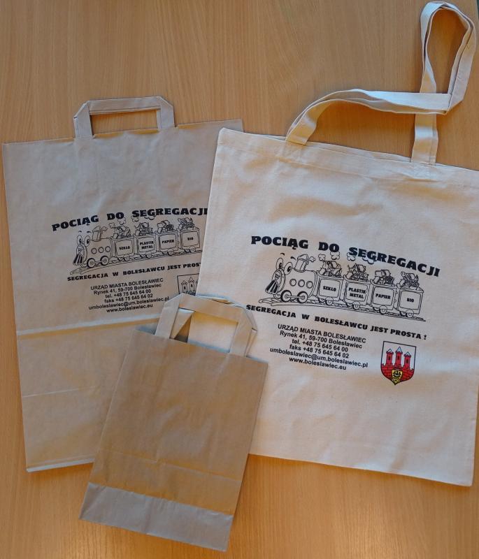 Wymieniamy foliówki na torby ekologiczne – 17 lutego (poniedziałek)
