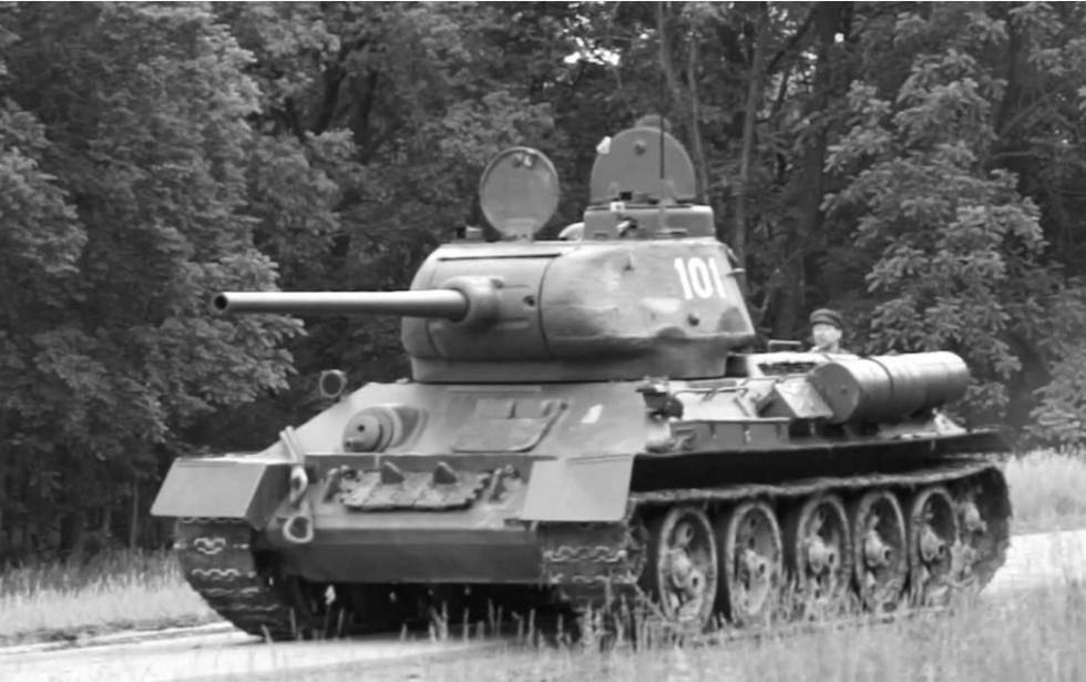 T – 34  wJagodzinie