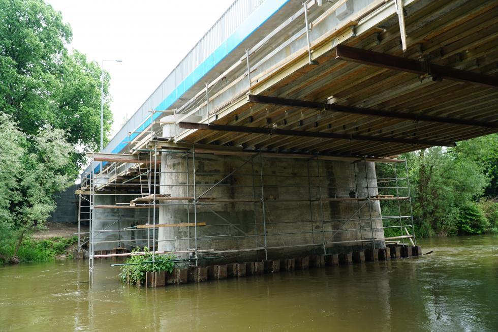 Remont mostu blisko finału