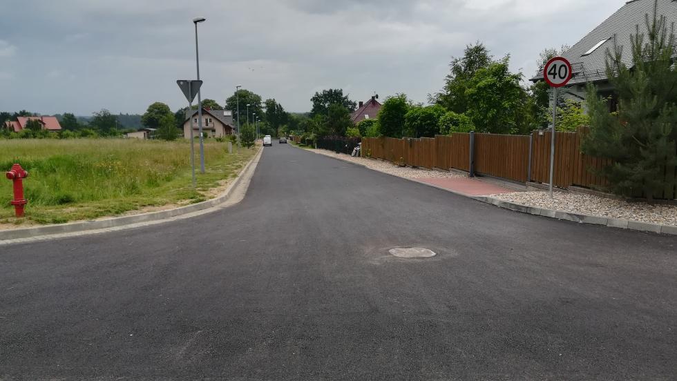 Budowa ulicy Kamiennej zakończona