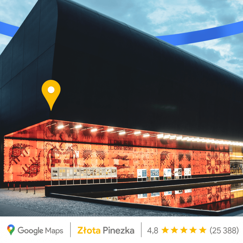 Złota Pinezka dla ZOO Wrocław Afrykarium zokazji 15. rocznicy uruchomienia Map Google