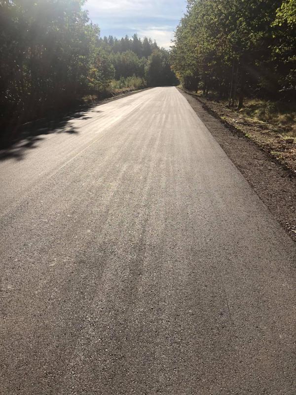 Przebudowa drogi zBolesławca doStarych Jaroszowic zakończona